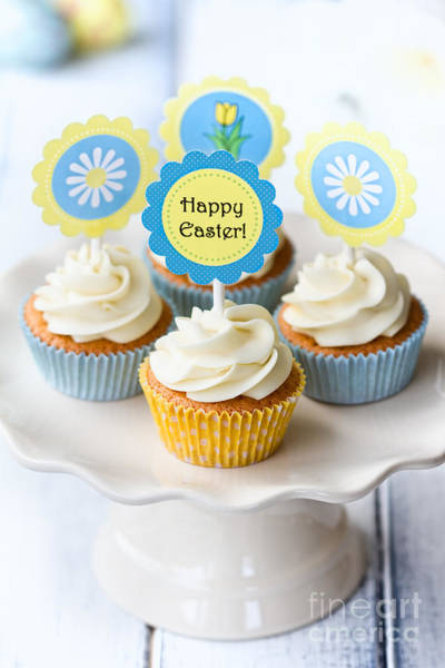 Wall Art - Photograph - Easter Cupcakes by Ruth Black