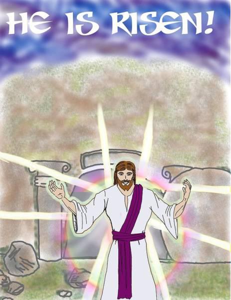 Easter Sunday Digital Art - Easter Inspiration by John Tompkins
