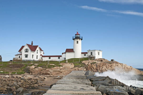 Eastern Point Lighthouse Art Print