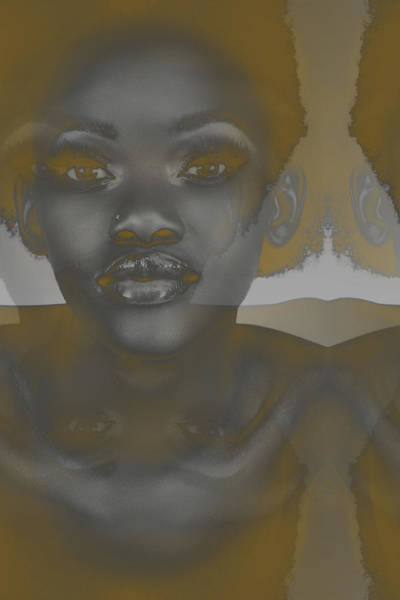 Ebony Art Print by Naxart Studio