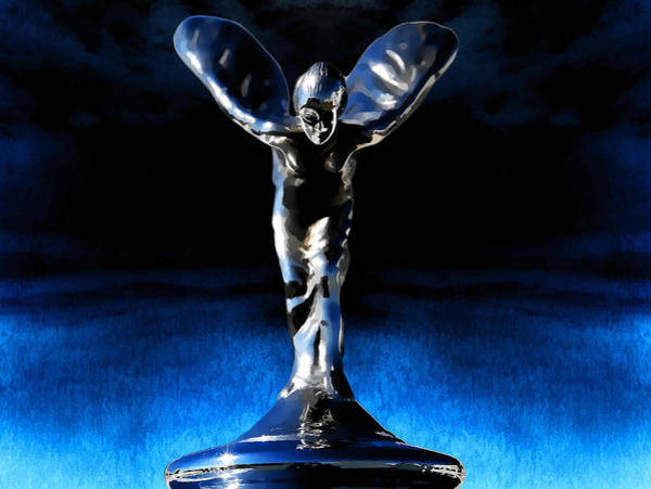 Hood Ornament Photograph - Ecstasy by Douglas Pittman