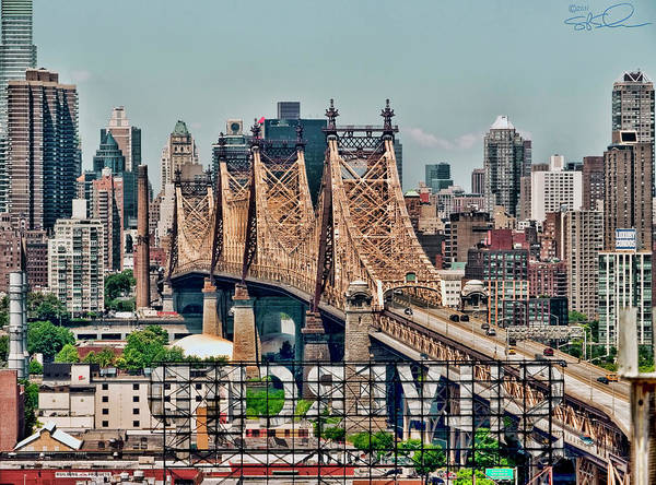 Photograph - Ed Koch Bridge by S Paul Sahm