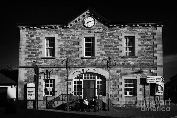 Wall Art - Photograph - Ederney Market House Town Hall Fermanagh Northern Ireland by Joe Fox