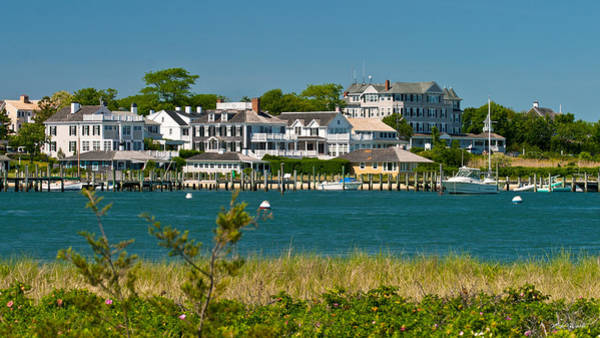 Photograph - Edgartown Harbor Marthas Vineyard Massachusetts by Michelle Constantine