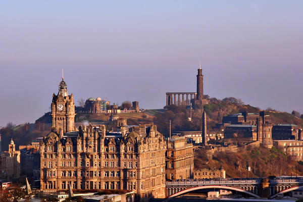 Photograph - Edinburgh Scotland - A Top-class European City by Christine Till