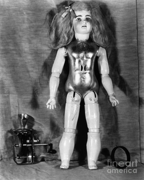 Photograph - Edison: Talking Doll, C1890 by Granger
