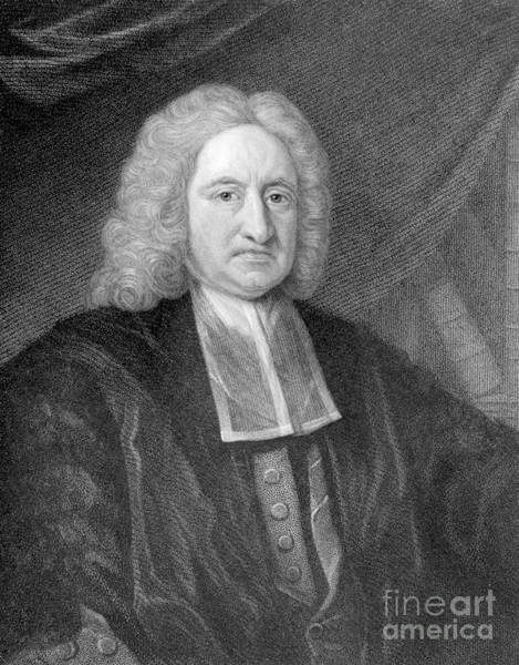 Diving Bell Photograph - Edmond Halley, English Polymath by Photo Researchers