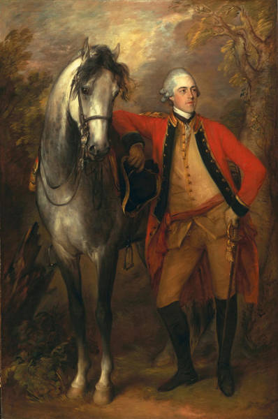 Thomas Gainsborough Wall Art - Painting - Edward Viscout Ligonier by Thomas Gainsborough