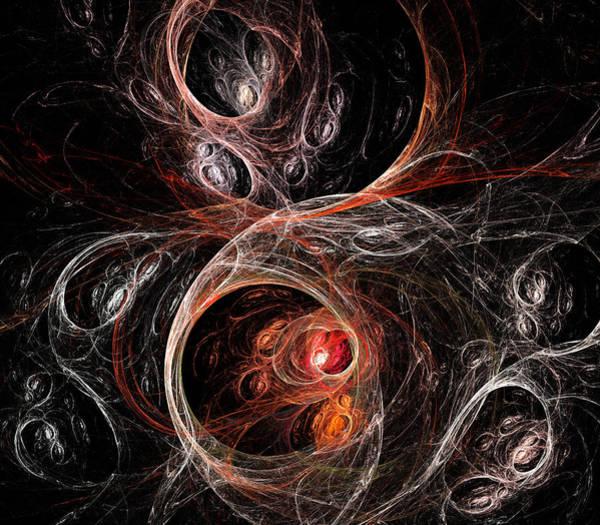 Spider Digital Art - Egg Sacks by Ricky Barnard