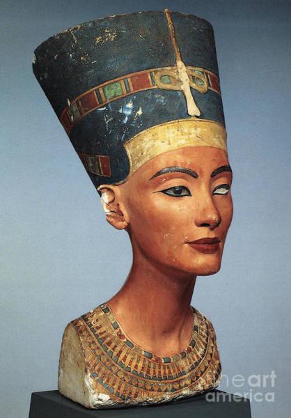 Photograph - Egypt: Nefertiti by Granger