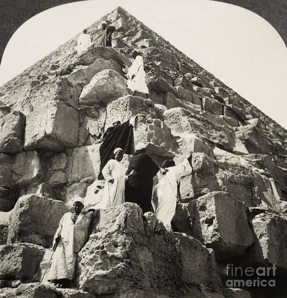 Photograph - Egypt: Pyramid, C1900 by Granger