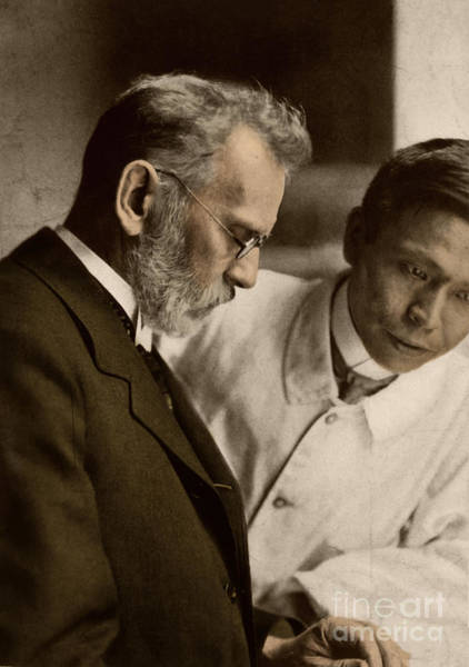 Wall Art - Photograph - Ehrlich And Hata, Discoverers by Science Source