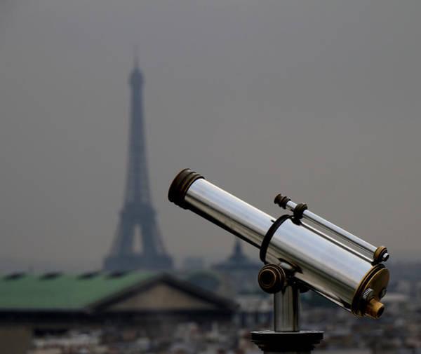 Photograph - Eiffel Telescope by Andrew Fare