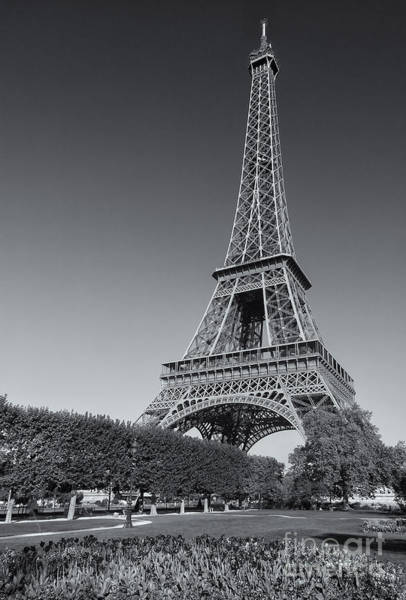 Photograph - Eiffel Tower In Spring IIi by Clarence Holmes