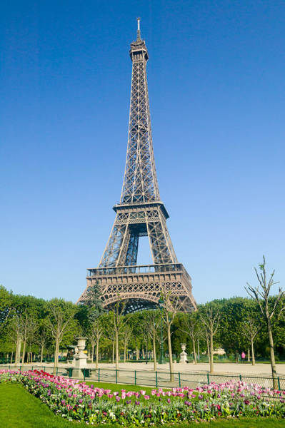 Photograph - Eiffel Tower In Spring Iv by Clarence Holmes