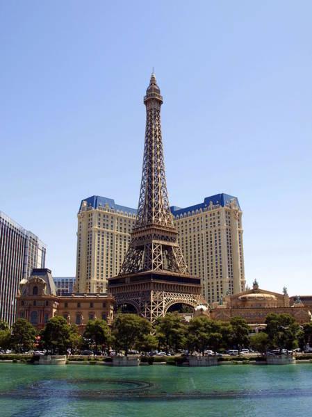 Photograph - Eiffel Tower Las Vegas by James Granberry