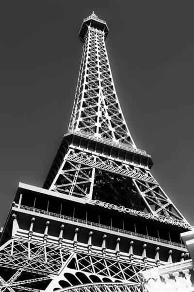 Photograph - Eiffel Tower Vegas Style by Leslie Leda