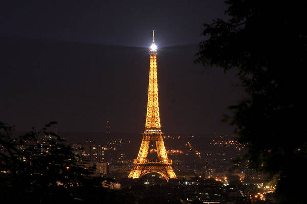 Photograph - Eiffel Tower by Wes and Dotty Weber