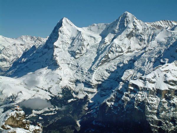 Eiger And Monsch Swiss Alps Art Print