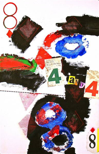 Painting - Eight Of Diamonds 42-52 by Cliff Spohn