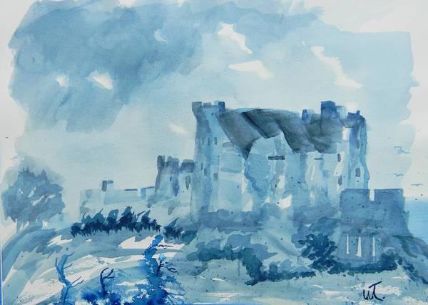 Eilean Donan Castle Painting - Eilean Donan Castle 2 by Warren Thompson