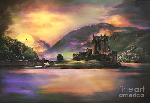 Eilean Donan Castle Digital Art - Eilean Donan Castle by Andrzej Szczerski