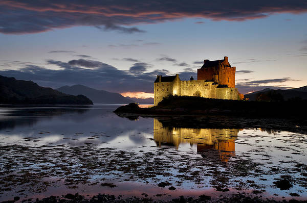 Wall Art - Photograph - Eilean Donan Castle by Guido Tramontano Guerritore