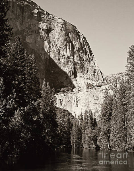 Photograph - El Capitan Meets The River by Pam  Holdsworth