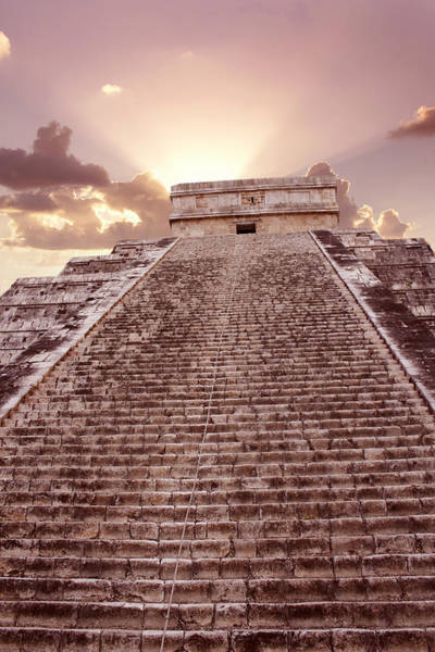 Kukulcan Photograph - El Castillo, Chichen Itza, Mexico by Tony Craddock