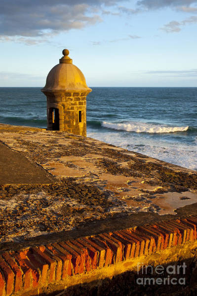 Sentry Box Photograph - El Morro Fort San Juan by Brian Jannsen