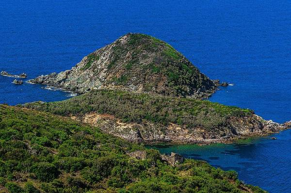 Photograph - Elba Island - Three Islands With The Ancient Ruins - Ph Enrico Pelos by Enrico Pelos