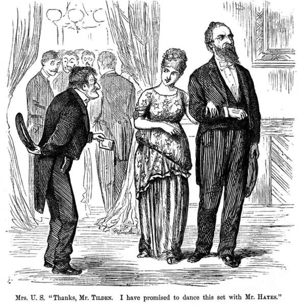 Photograph - Election Cartoon, 1877 by Granger