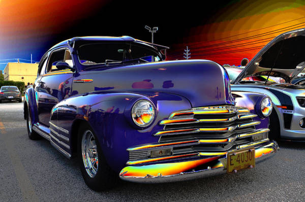 Rod Taylor Photograph - Electric Chevy by David Taylor
