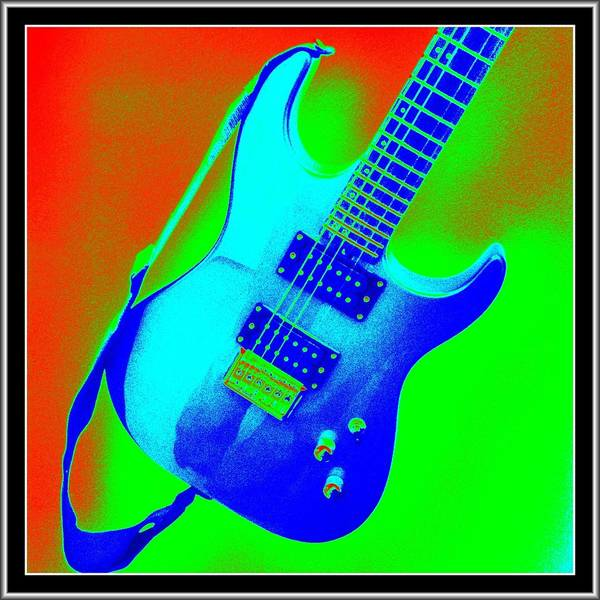 Wall Art - Photograph - Electric Guitar by Marie Naturally