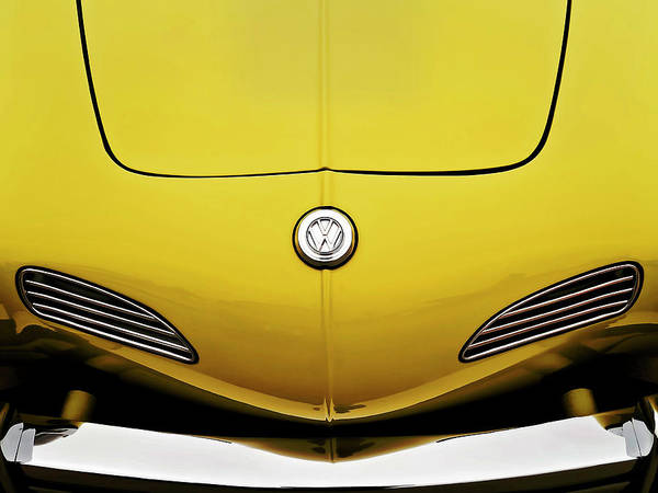 Volkswagen Wall Art - Digital Art - Electric Karmann by Douglas Pittman