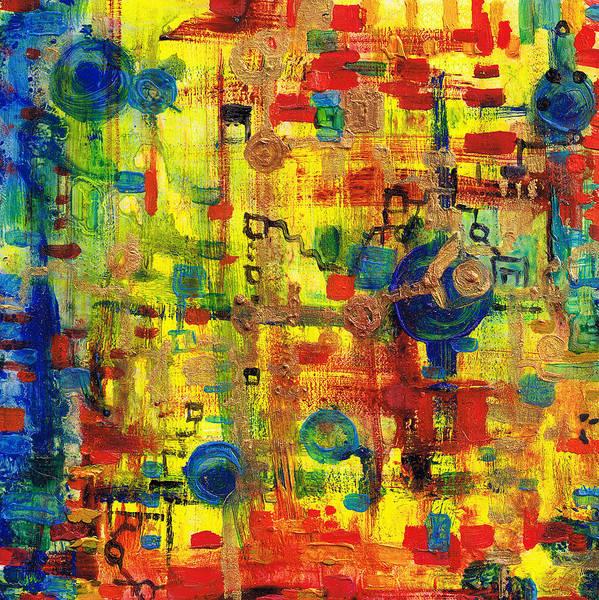 Painting - Electronic Chachacha by Regina Valluzzi