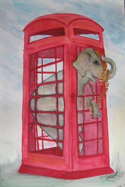 Entangled Painting - Eletelephone by Neena Plant
