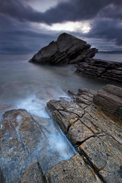 Wall Art - Photograph - Elgol Rock by Guido Tramontano Guerritore