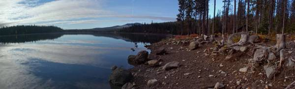 Central Oregon Photograph - Elk Lake Panorama by Twenty Two North Photography
