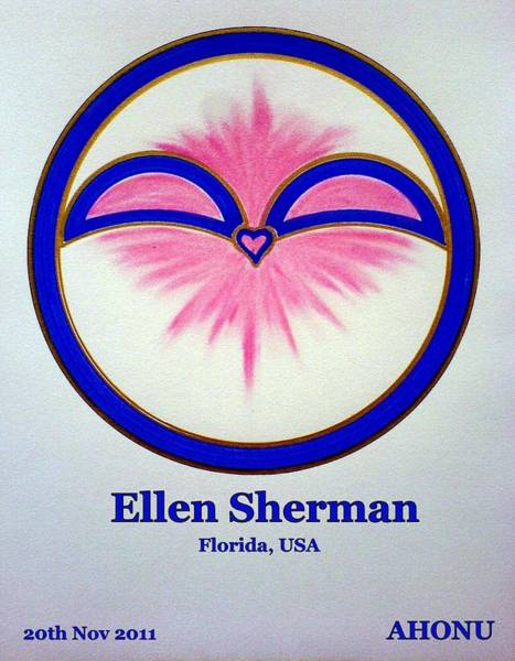 Painting - Ellen Sherman by Ahonu