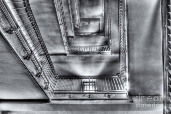 Photograph - Ellis Island Stairway II by Clarence Holmes