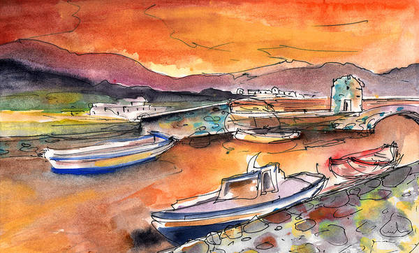 Painting - Elounda 02 by Miki De Goodaboom