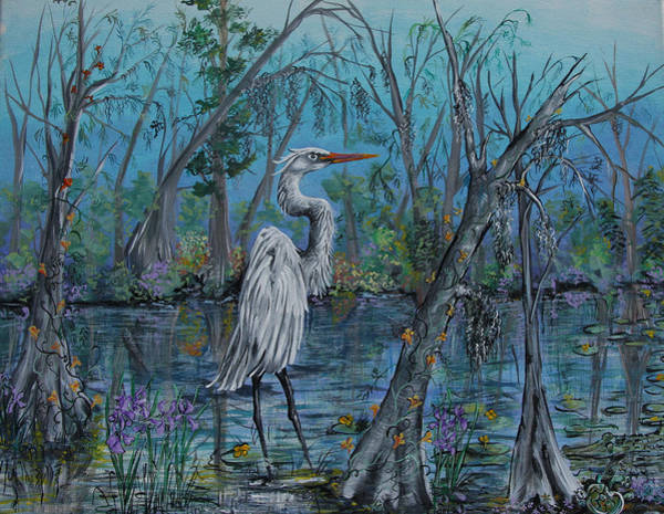 Painting - Elusive Swamp by Virginia Bond