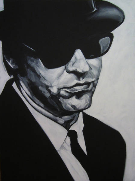 Brothers Painting - Elwood by Steve Hunter
