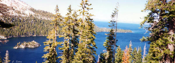 Photograph - Emerald Bay by C Sitton