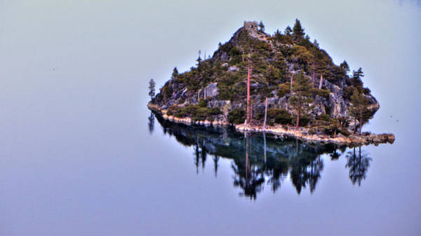 Photograph - Emerald Bay Island by Brad Scott