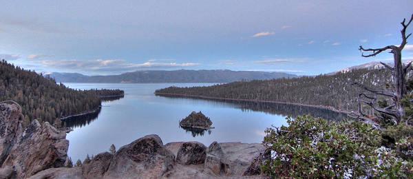 Emerald Bay Photograph - Emerald Bay Panorama by Brad Scott