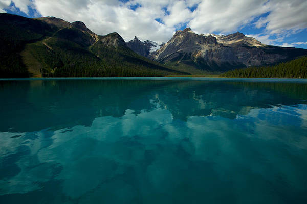 Photograph - Emerald Lake by Jane Melgaard