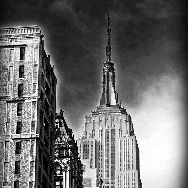 Skyscraper Photograph - #empire #newyorker #ny #architecture by Joel Lopez