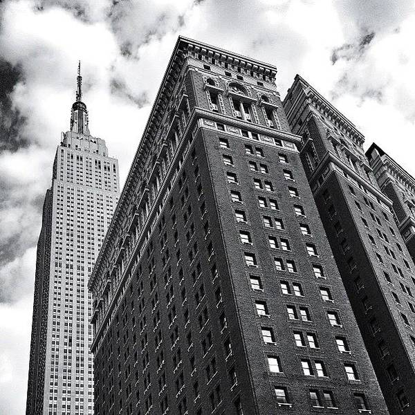 Black And White Photograph - Empire State Building - New York City by Vivienne Gucwa